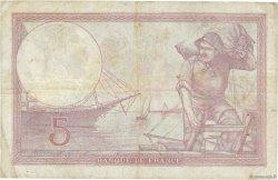 5 Francs VIOLET modifié FRANCE  1939 F.04.05 TB