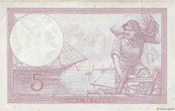 5 Francs VIOLET modifié FRANCE  1939 F.04.06 TTB