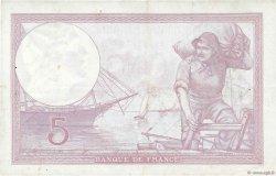 5 Francs VIOLET modifié FRANCE  1939 F.04.06 TTB+