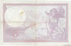 5 Francs VIOLET modifié FRANCE  1939 F.04.07 TTB+