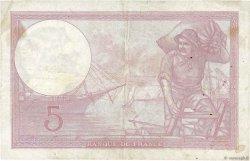 5 Francs VIOLET modifié FRANCE  1939 F.04.09 TTB