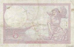 5 Francs VIOLET modifié FRANCE  1939 F.04.11 pr.TTB