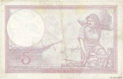 5 Francs VIOLET modifié FRANCE  1939 F.04.11 TB+