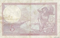 5 Francs VIOLET modifié FRANCE  1940 F.04.15 TB
