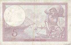 5 Francs VIOLET modifié FRANCE  1940 F.04.15 TB+