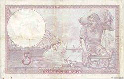 5 Francs VIOLET modifié FRANCE  1940 F.04.15 TTB
