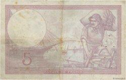 5 Francs VIOLET modifié FRANCE  1940 F.04.16 TB