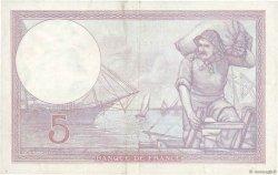 5 Francs VIOLET modifié FRANCE  1940 F.04.17 TTB+