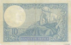 10 Francs MINERVE FRANCE  1927 F.06.12 pr.TTB