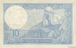 10 Francs MINERVE FRANCE  1927 F.06.12 TTB