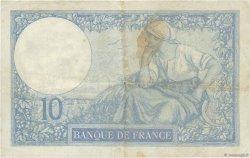 10 Francs MINERVE FRANCE  1927 F.06.12 TB+