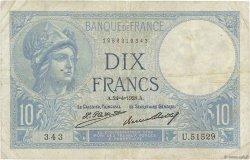 10 Francs MINERVE FRANCE  1928 F.06.13 TB
