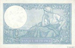 10 Francs MINERVE modifié FRANCE  1939 F.07.10 TTB