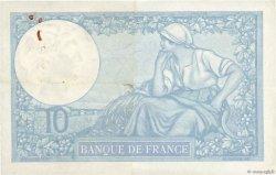 10 Francs MINERVE modifié FRANCE  1939 F.07.13