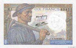 10 Francs MINEUR FRANCE  1941 F.08.01 pr.SPL