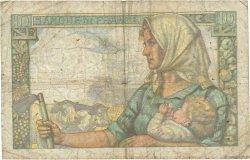 10 Francs MINEUR FRANCE  1941 F.08.01 B
