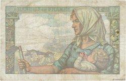 10 Francs MINEUR FRANCE  1942 F.08.03 TB