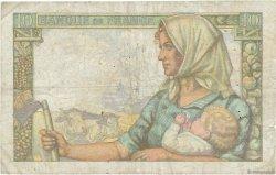 10 Francs MINEUR FRANCE  1942 F.08.04 B