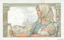 10 Francs MINEUR FRANCE  1942 F.08.04 SUP