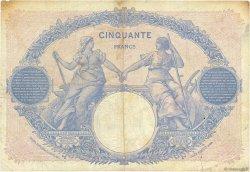 50 Francs BLEU ET ROSE FRANCE  1924 F.14.37 TB