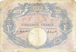 50 Francs BLEU ET ROSE FRANCE  1924 F.14.37 B