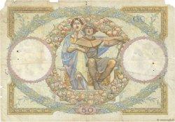 50 Francs LUC OLIVIER MERSON type modifié FRANCE  1930 F.16.01 AB
