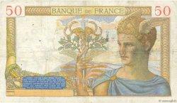 50 Francs CÉRÈS FRANCE  1935 F.17.05 pr.TTB
