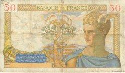 50 Francs CÉRÈS FRANCE  1935 F.17.08 TB