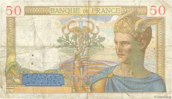 50 Francs CÉRÈS FRANCE  1935 F.17.14 TB