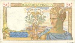 50 Francs CÉRÈS FRANCE  1935 F.17.19 TTB
