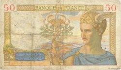 50 Francs CÉRÈS FRANCE  1936 F.17.32 TB