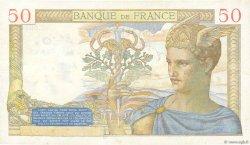50 Francs CÉRÈS FRANCE  1937 F.17.33 TB+