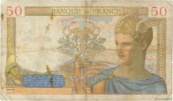 50 Francs CÉRÈS FRANCE  1937 F.17.35 B