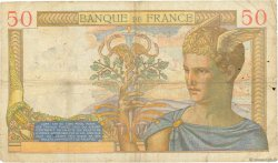50 Francs CÉRÈS FRANCE  1937 F.17.37 B