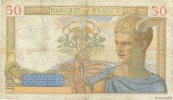 50 Francs CÉRÈS FRANCE  1937 F.17.40 pr.TB