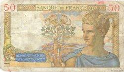 50 Francs CÉRÈS FRANCE  1937 F.17.40 B