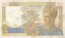 50 Francs CÉRÈS modifié FRANCE  1939 F.18.26 TB+