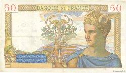 50 Francs CÉRÈS modifié FRANCE  1940 F.18.38 TTB+