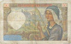 50 Francs JACQUES CŒUR FRANCE  1940 F.19.03 B+