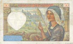 50 Francs JACQUES CŒUR FRANCE  1941 F.19.05 TB+