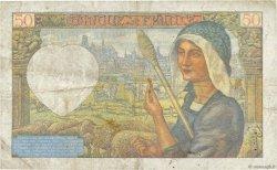 50 Francs JACQUES CŒUR FRANCE  1941 F.19.09 TB