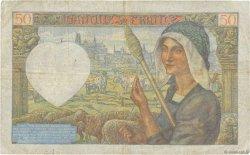 50 Francs JACQUES CŒUR FRANCE  1941 F.19.17 B+