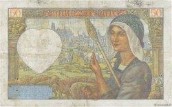 50 Francs JACQUES CŒUR FRANCE  1941 F.19.17 TB
