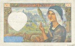 50 Francs JACQUES CŒUR FRANCE  1942 F.19.18 TB