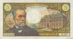 5 Francs PASTEUR FRANCE  1966 F.61.02 TB+