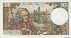 10 Francs VOLTAIRE FRANCE  1964 F.62.08 SUP