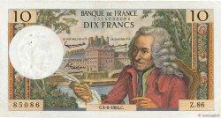 10 Francs VOLTAIRE FRANCE  1964 F.62.09 TTB