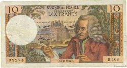 10 Francs VOLTAIRE FRANCE  1964 F.62.10 pr.TB