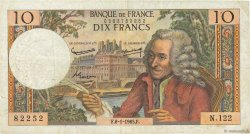 10 Francs VOLTAIRE FRANCE  1965 F.62.12