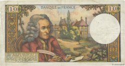 10 Francs VOLTAIRE FRANCE  1965 F.62.14 TB